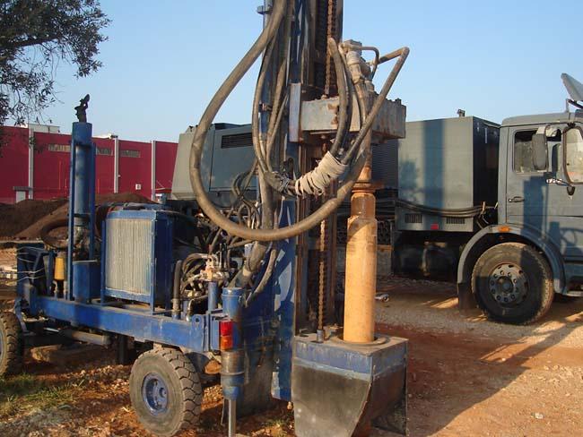 γεώτρησης νερού